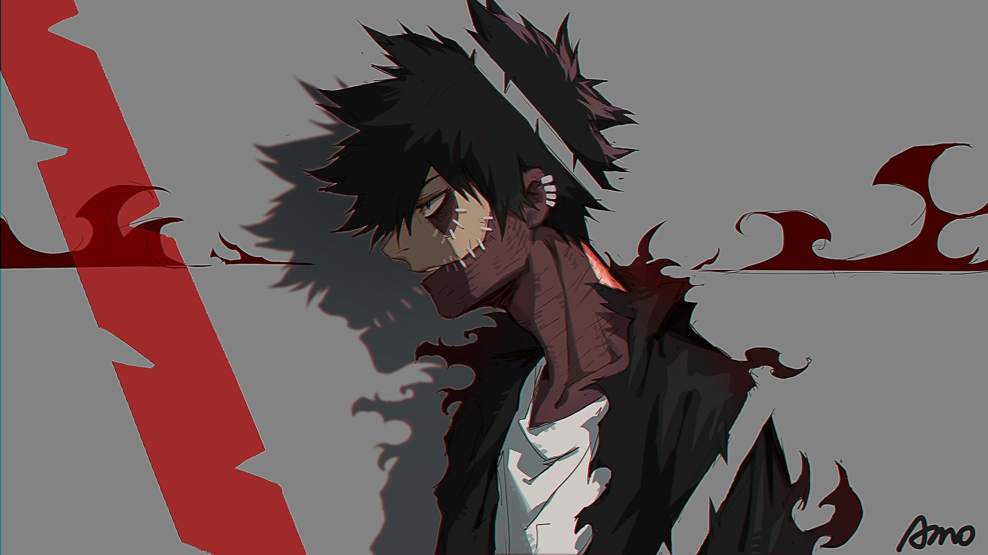 Dabi My Hero Academia Hd 1920x1080 C1323 Hero Wallpaper Anime