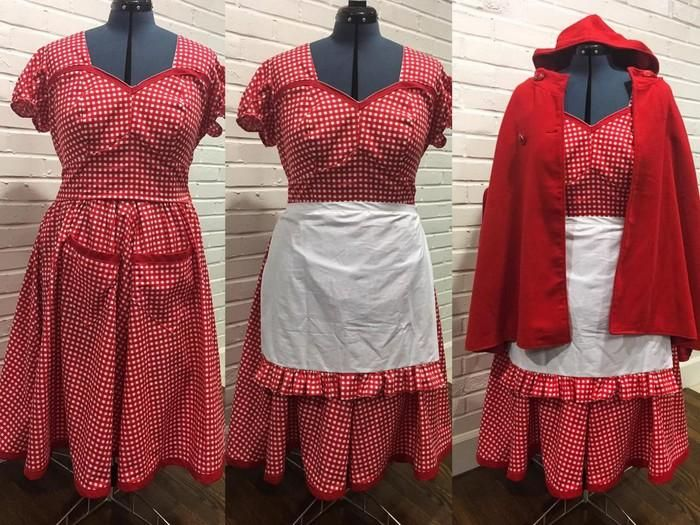 "Craftsy - made for halloween, little red riding hood by the ""sassyseamstress"""