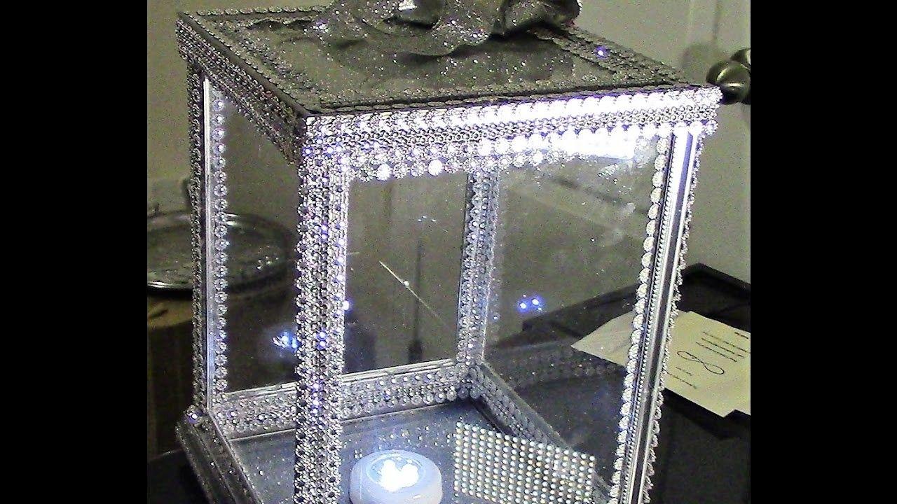 Diy dollar tree 100 glass cardmoneykeepsake box