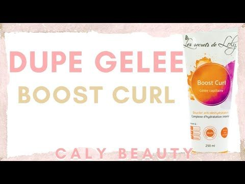 #greenbeauty #diy #calybeauty ✮ DIY DUPE Gelée Boost Curl | Caly Beauty - YouTube