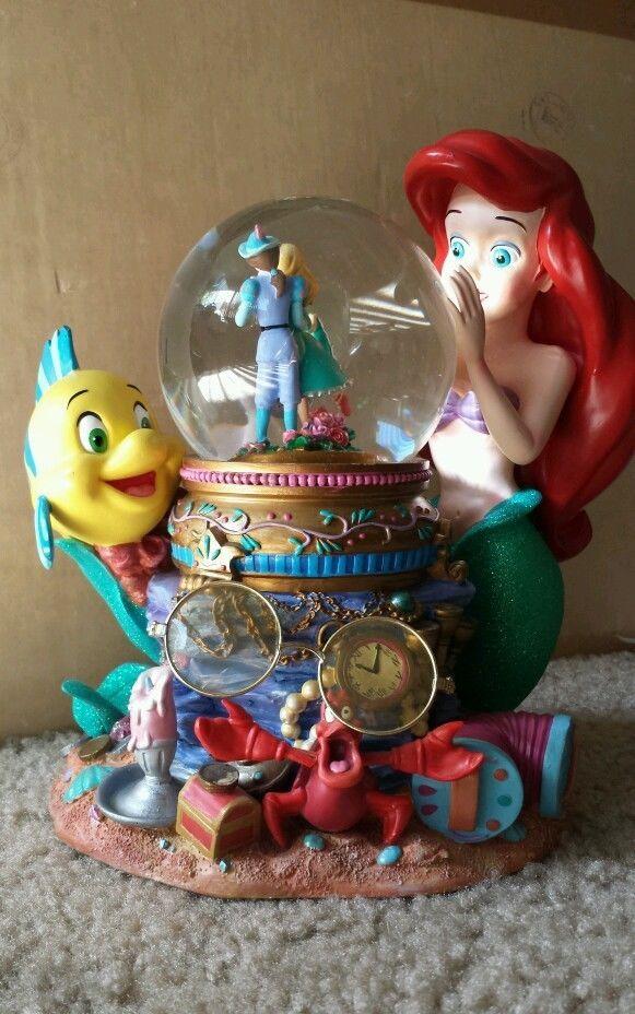 Walt Disney S Rare Little Mermaid Musical Snow Globe