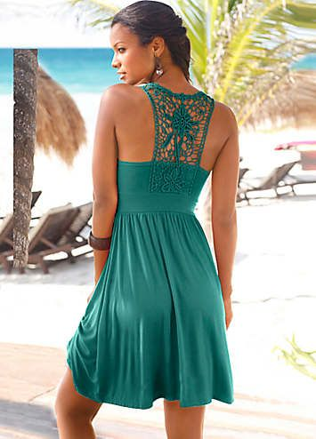 23c1519d57 LASCANA Beach Dress in 2019 | My style | Dresses, Fashion, Beach dresses