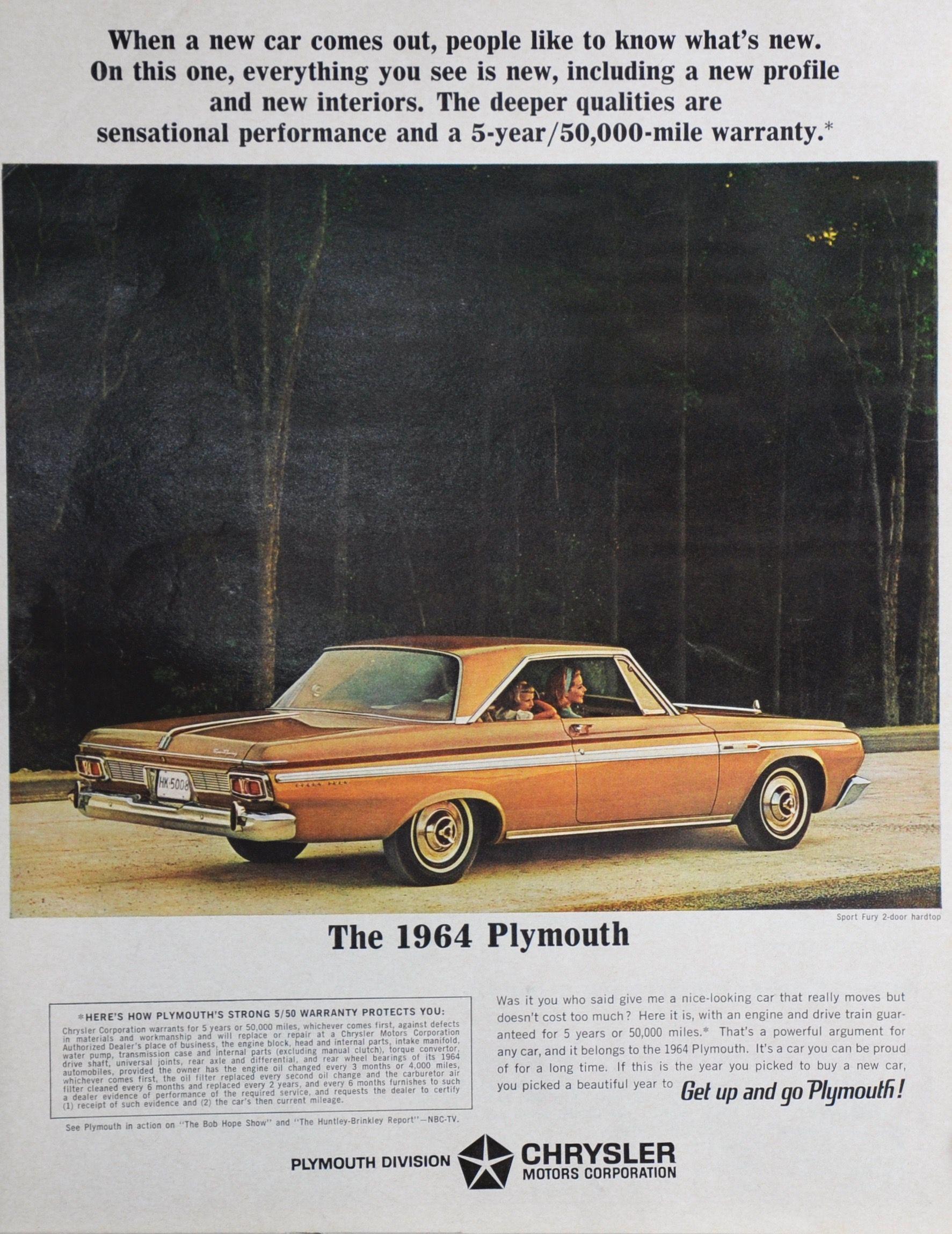 1964 Plymouth Sport Fury Two Door Hardtop. in 2020