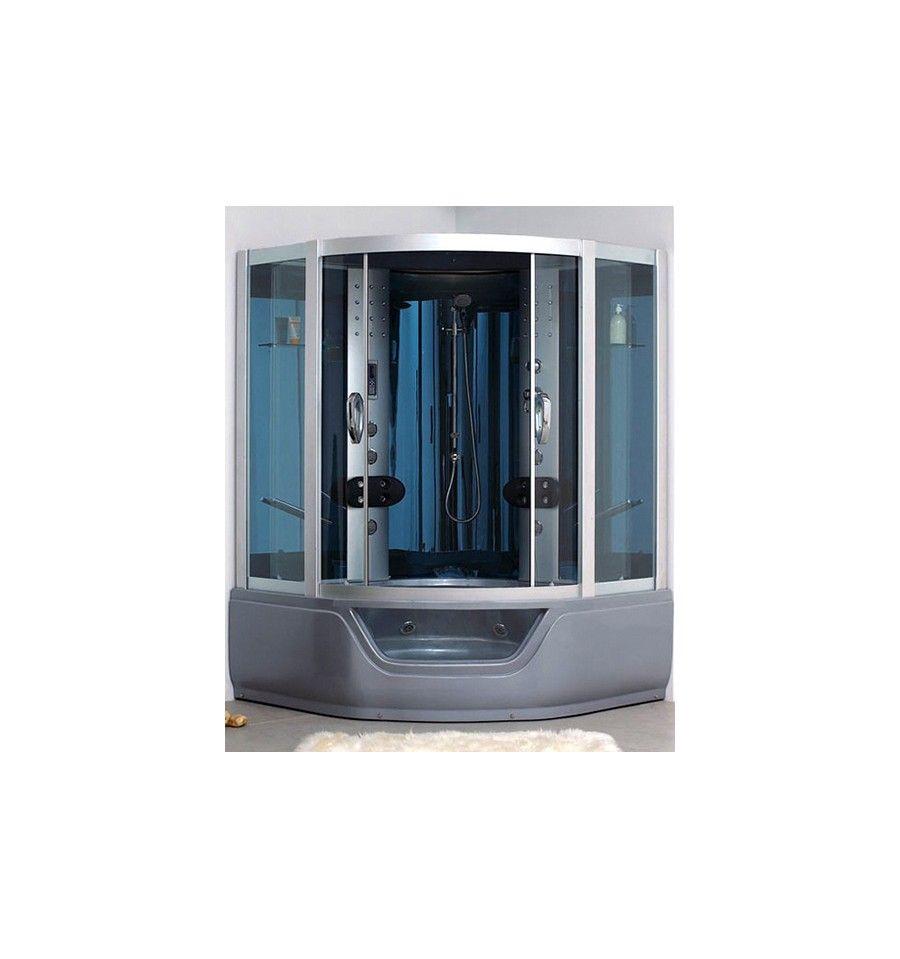 Combin baignoire douche kirov avec hammam cabine de douche design hammam mobilier salle de - Baignoire douche design ...