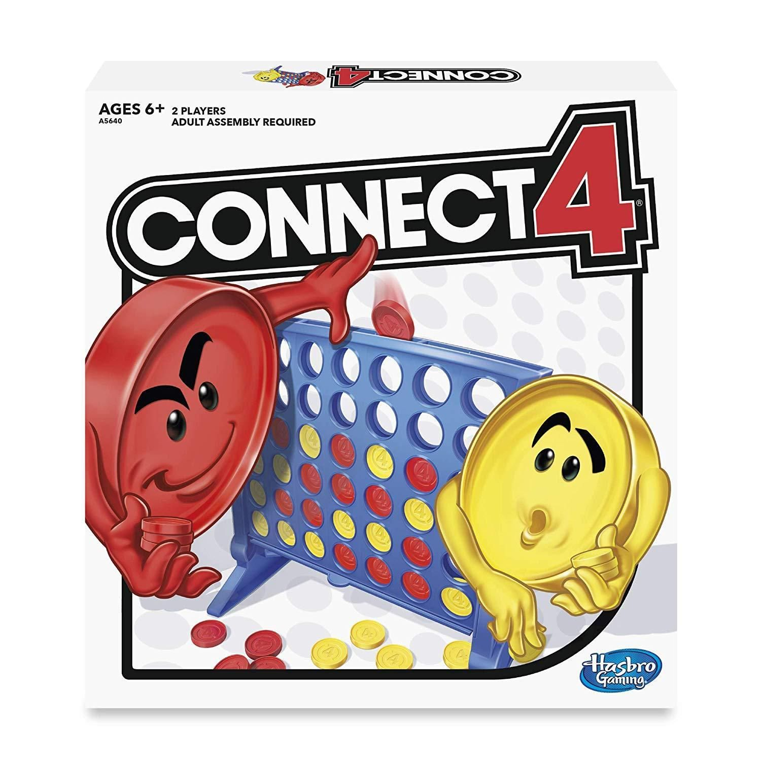 Lots of Hasbro Games on Sale at Amazon Connect Four