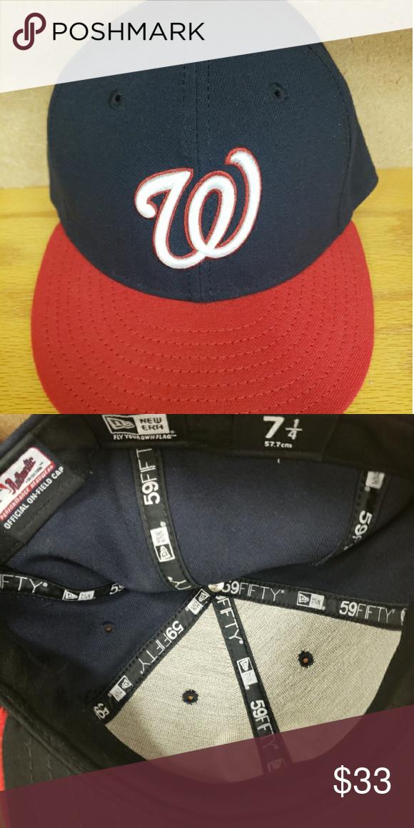 Washington nationals 59 50 Snapback hat 7 1 4 Washington nationals 59 50  Snapback hat sz 7 1 4 Snapback Accessories Hats 8de4802cbf88