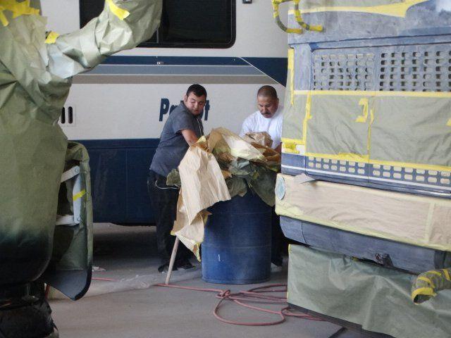 Photo Of Rv Paint Department Fontana Ca United States Rv Trailer Camper Rv Paint Rv Service Fontana Ca Recreational Vehicles Rv Remodel
