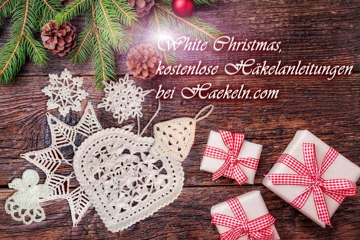 White Christmas. Dieses Jahr gibt es bei haekeln.com weiße ...