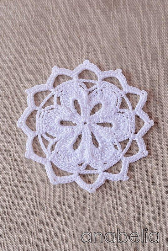 Crochet doily nr 3 | Graficos de croche | Pinterest | Tejido ...