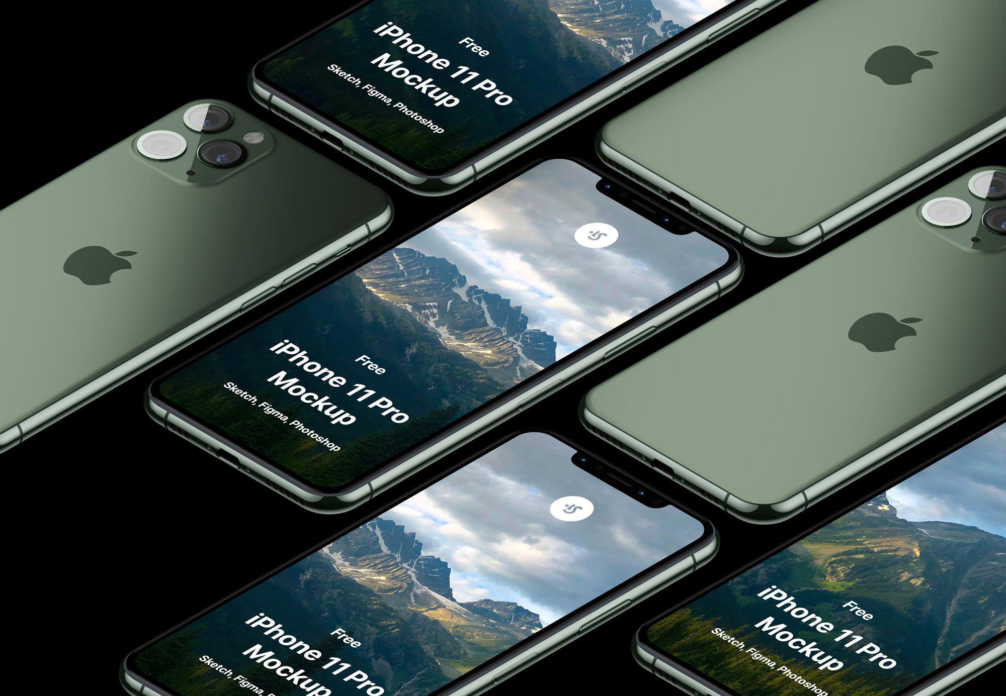 Free iPhone 11 Pro Max Mockup Free iphone, Iphone 11