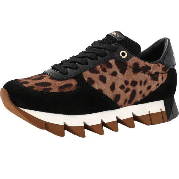 Dolce \u0026 Gabbana Leopard Print Sneaker