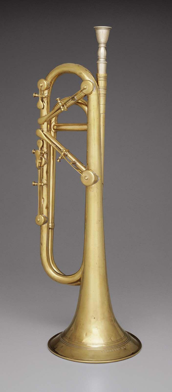 Keyed Trumpet Massarenti 1843 Woodwind Instruments Brass Instrument Musical Instruments