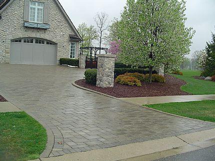 Brick Paver Driveway Bloomfield Hills Mi