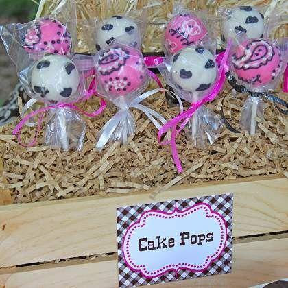horse theme cake pops   Found on spoonful.com