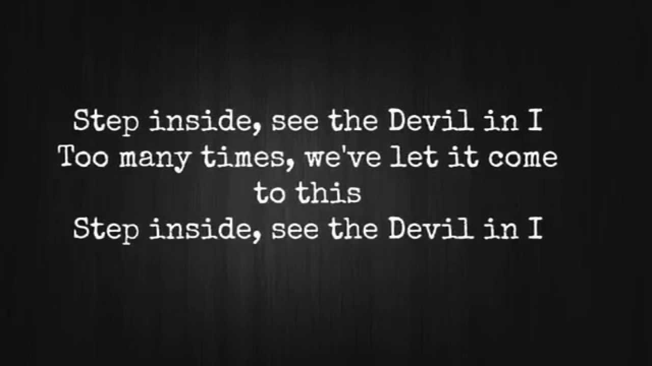 Slipknot - The Devil in I (Lyrics)~ḆÊ~ #DaBeAuTiezMuZic ~