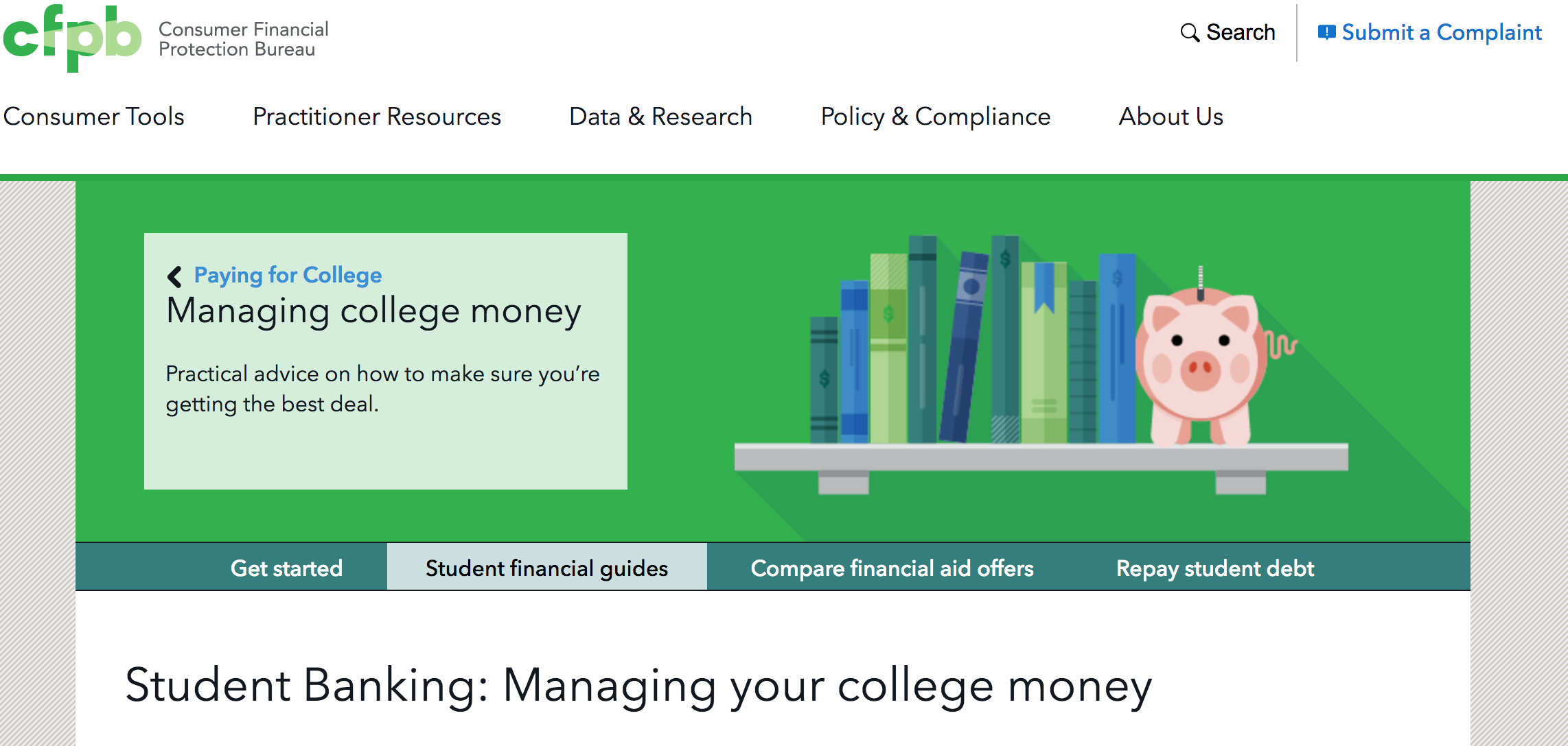Provides Basic Tools And Advice Geared Towards Students