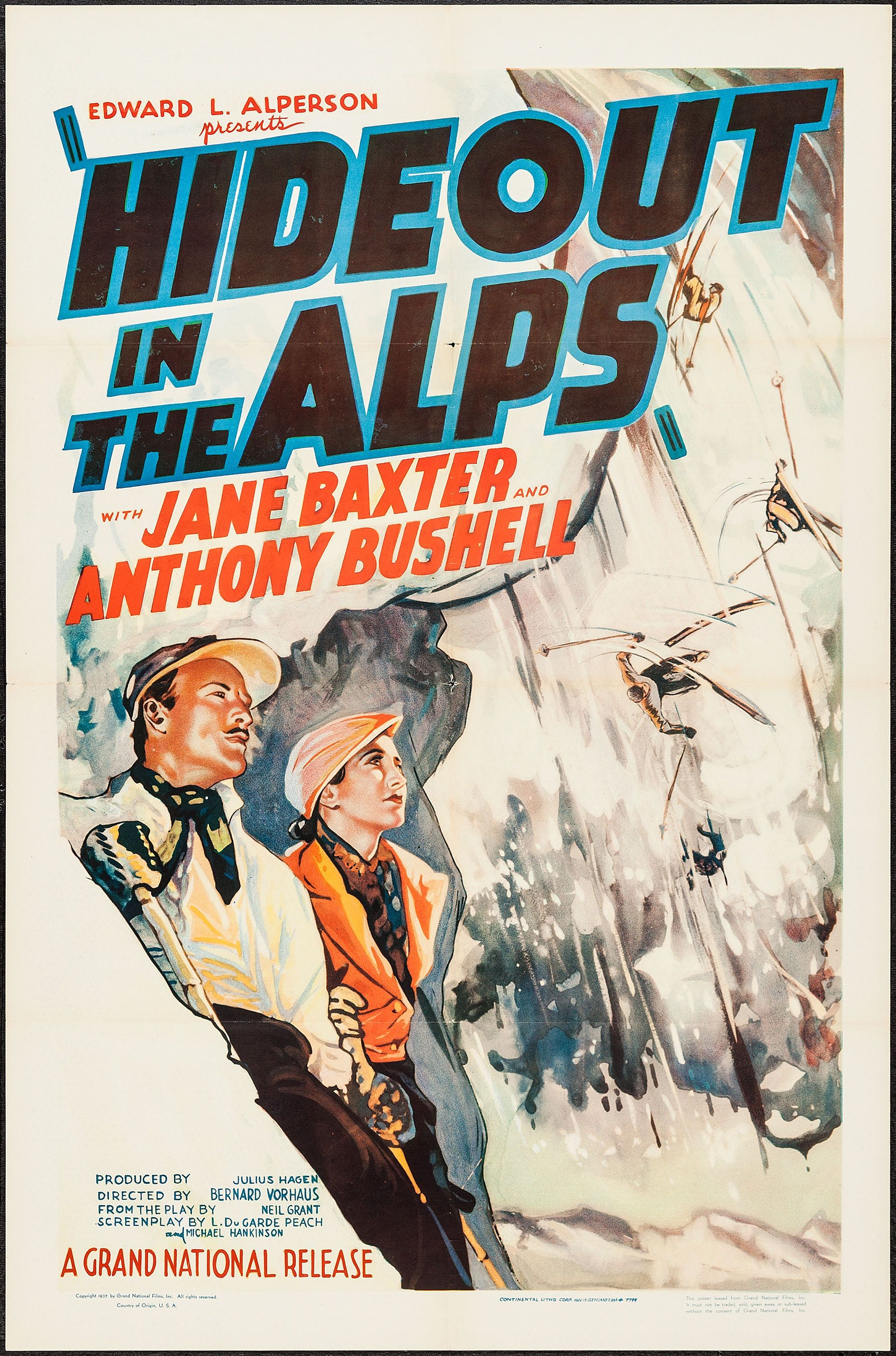 Watch Hideout in the Alps Full-Movie Streaming