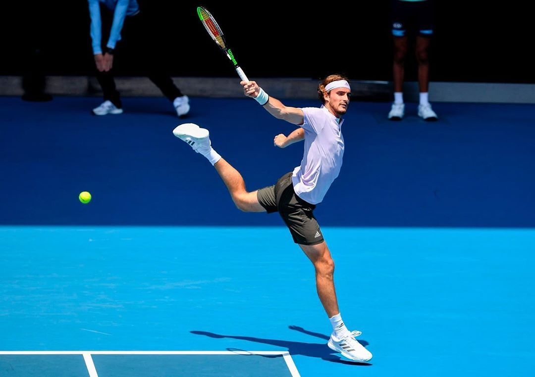 Stefanos Tsitsipas On Instagram Tennis Or Ballet In 2020 Tennis Ballet Grand Slam