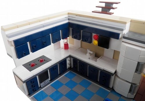 Best Lego Kitchen Lego Kitchen Lego Furniture Lego Creations 400 x 300