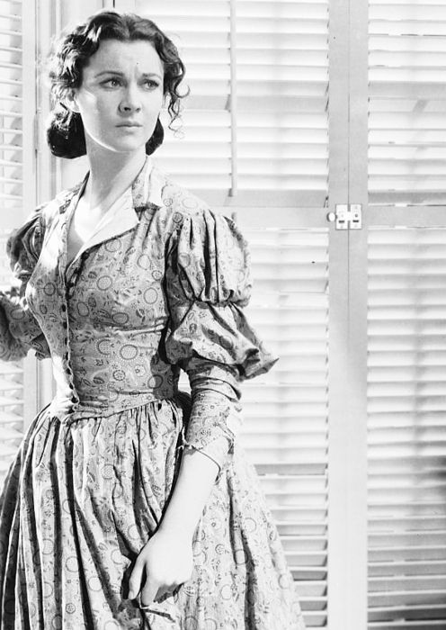 """Vivien Leigh as Scarlett O'Hara in """" Gone with the Wind"""" (1939)"""