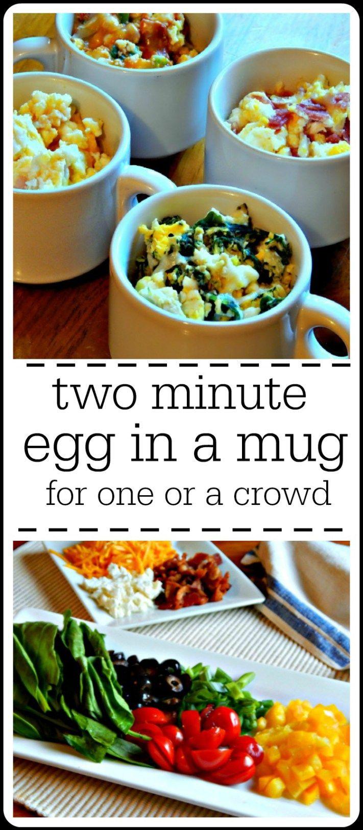 Egg in a Mug Microwave Omelets Recipe Super easy