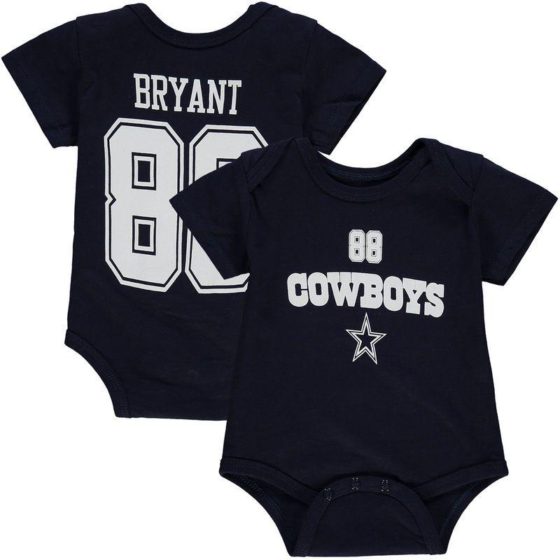 Dez Bryant Dallas Cowboys Newborn & Infant Player Name & Number Bodysuit - Navy #dezbryant