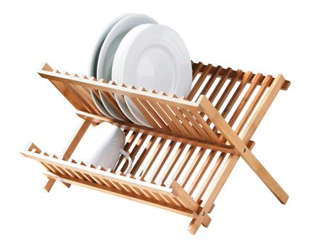 Bamboo plate rack. Use stack and store in your cupboard or as a dish rack  sc 1 st  Pinterest & Bamboo plate rack. Use stack and store in your cupboard or as a dish ...