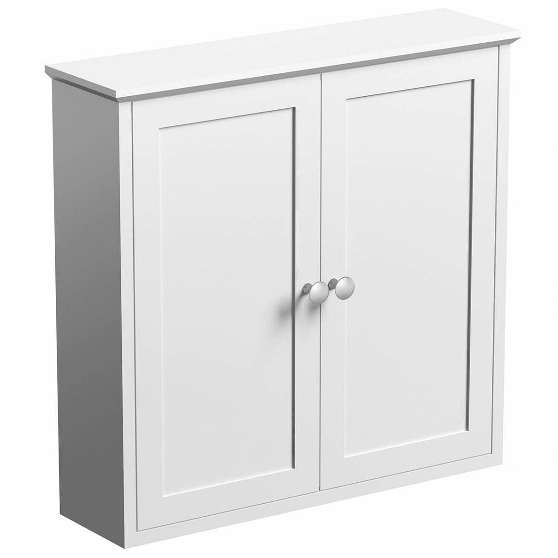 Camberley white wall mounted cabinet wall mounted - Wall mounted bathroom storage units ...