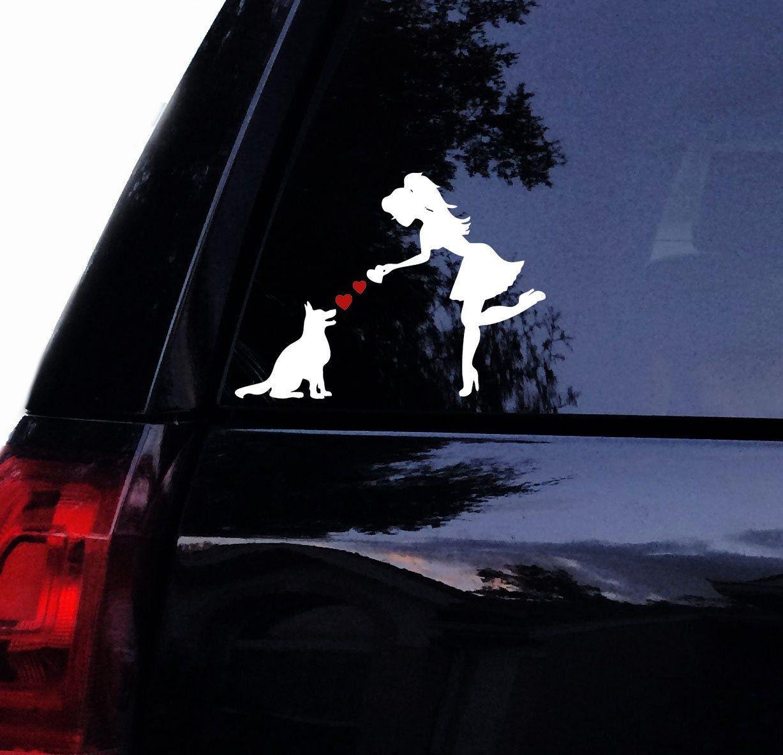 German Shepherd Decal Sassy Lady Loves Her German Shepherd Etsy Car Window Stickers Dog Decals Pug Mom [ 1183 x 1227 Pixel ]