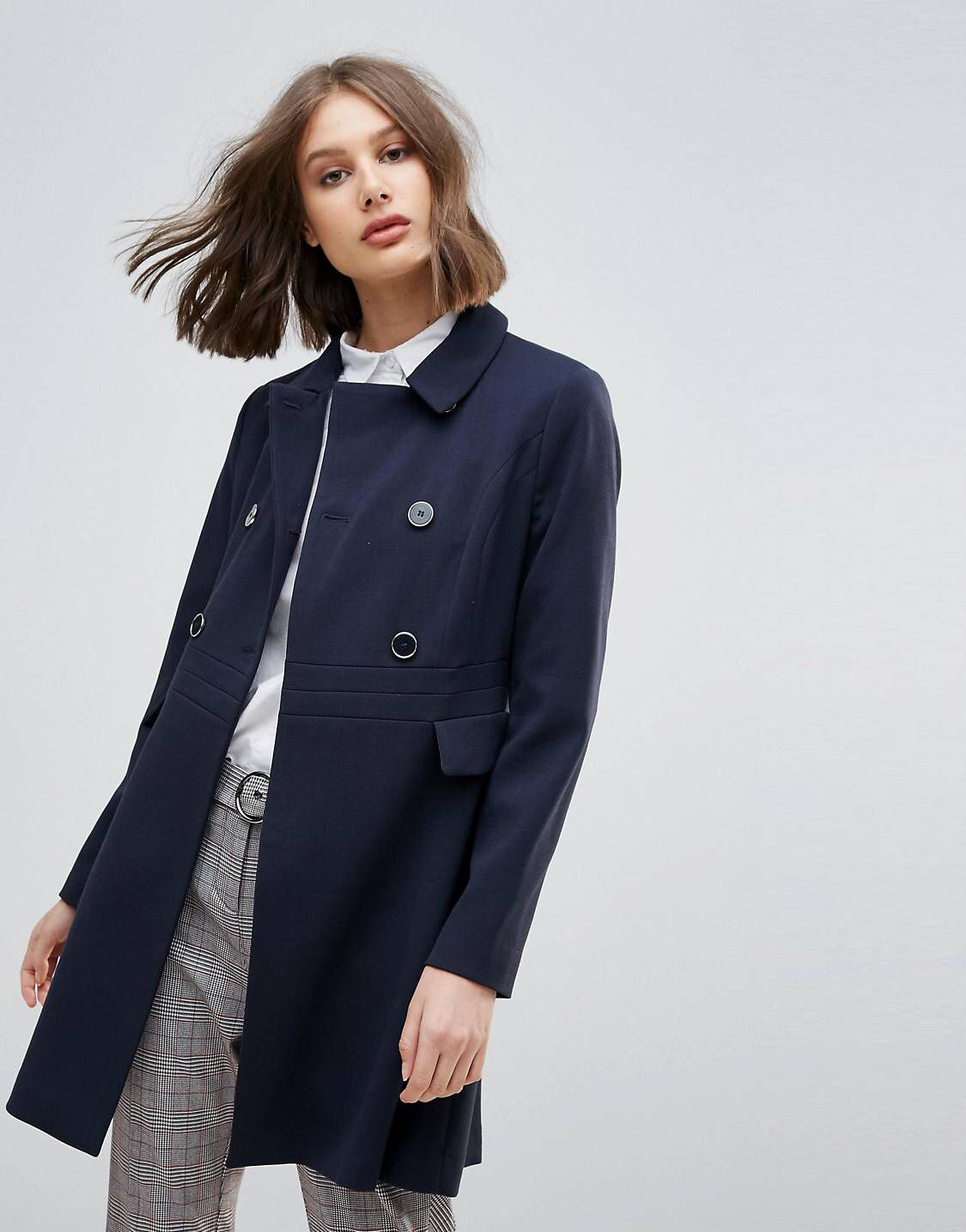 725cd460254e LOVE this from ASOS! | Clothes/Shoes/Accessories | Swing coats, Coat ...