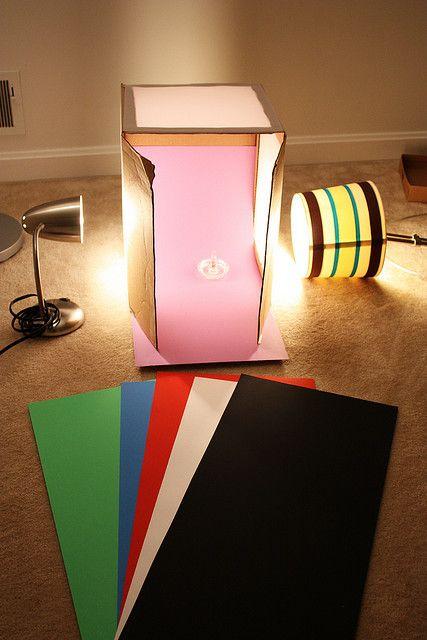 Going Cheap Making A Light Box Dicas De Fotografia De Produto Fotografia De Produtos Tutoriais De Fotografia