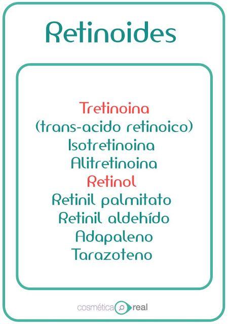Cosmecéutico: Retinol