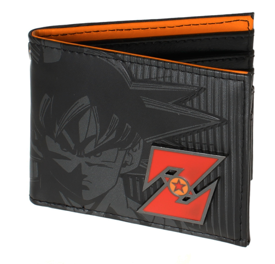 Dragon Ball Z Wallet Young Men and Women Students Anime Fashion free shipping