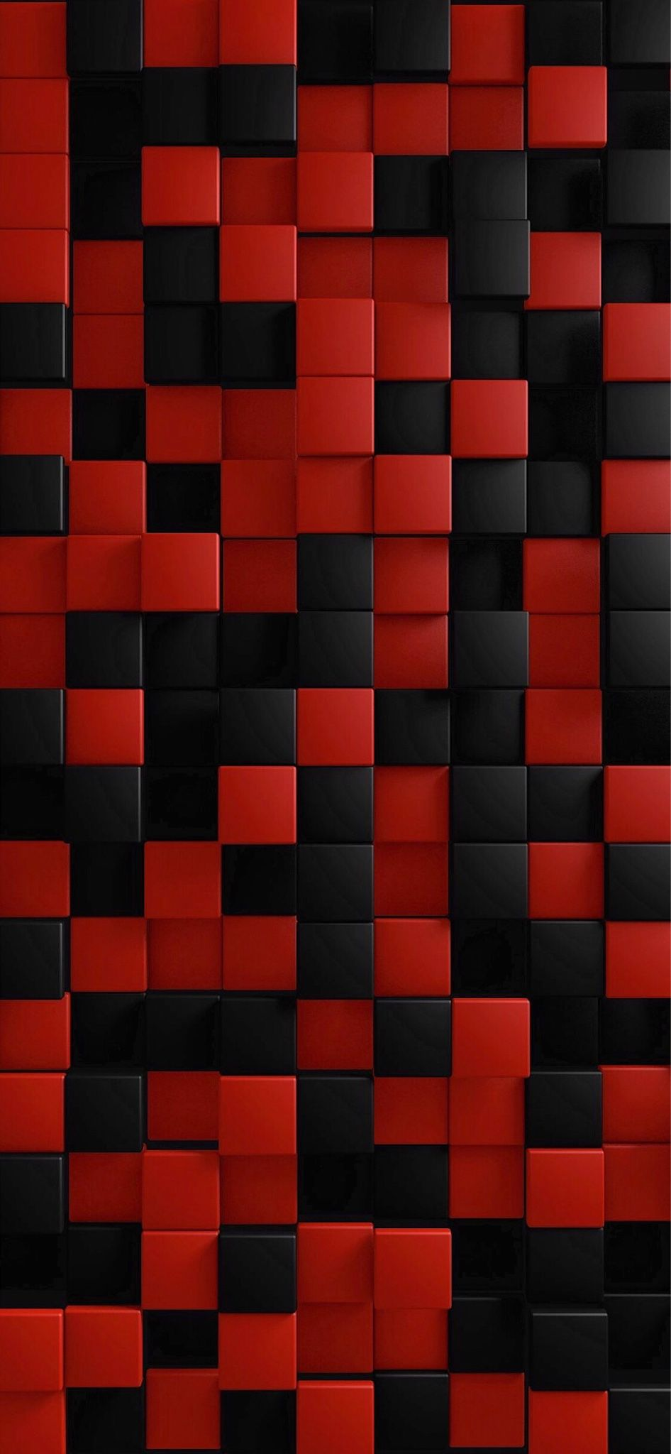 Red And Black Cube Black Wallpaper Red And Black Wallpaper Cellphone Wallpaper