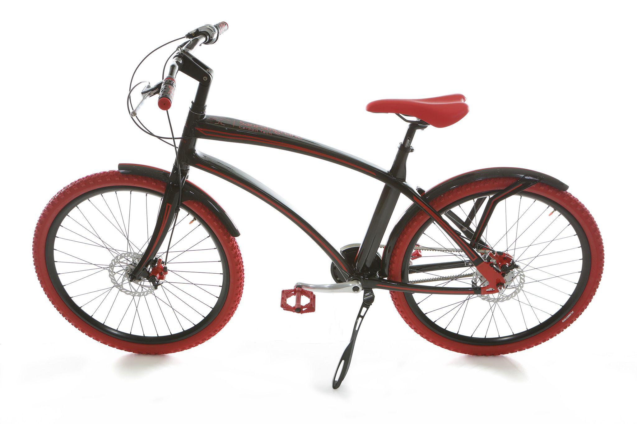 Bicicletta Carbon Tech