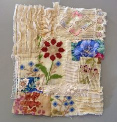 Mandy Pattullo/Thread and Thrift: Student work, Cornish Collage workshop