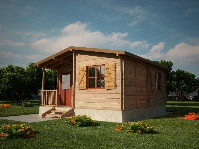 Houten Chalet Bouwen : Houtskeletbouw chalet salaj houten huis bouwen houten huizen