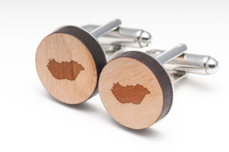 Hungary Wood Cufflinks