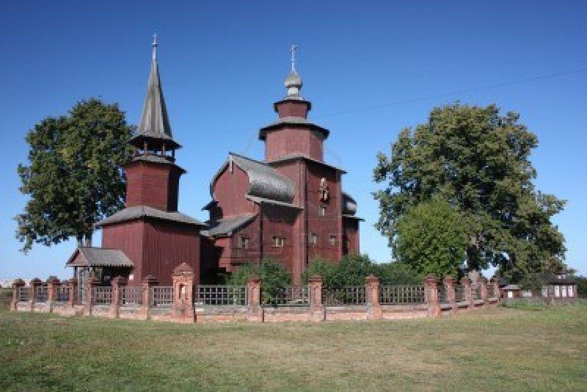 Wooden Church of St. John the Divine, built in 1687, on Ishna in the Yaroslavl region.
