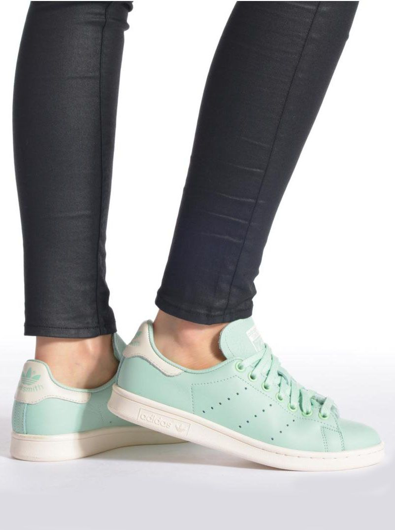 Baskets vert d'eau Adidas - Stan Smith, 100 euros sur ...