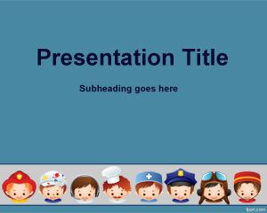 job interview powerpoint template is a free template for powerpoint