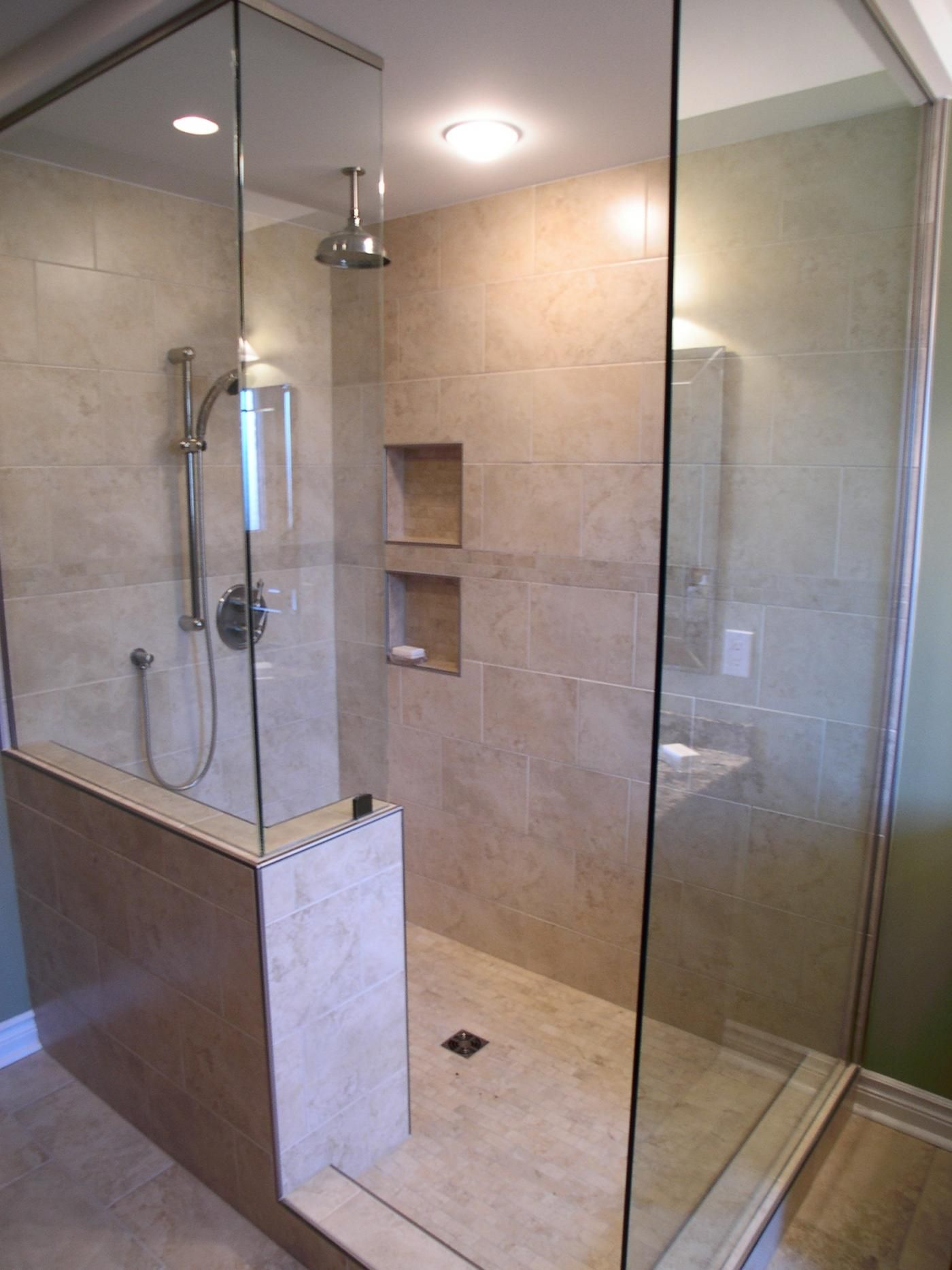 small walk in showers without doors shower design ideas cloakroom ideas these walk in - Small Shower Design Ideas