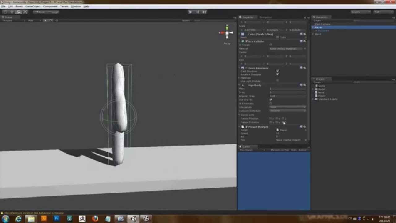 阿葉的Unity3D遊戲教程「動作RPG」上(重新上傳)