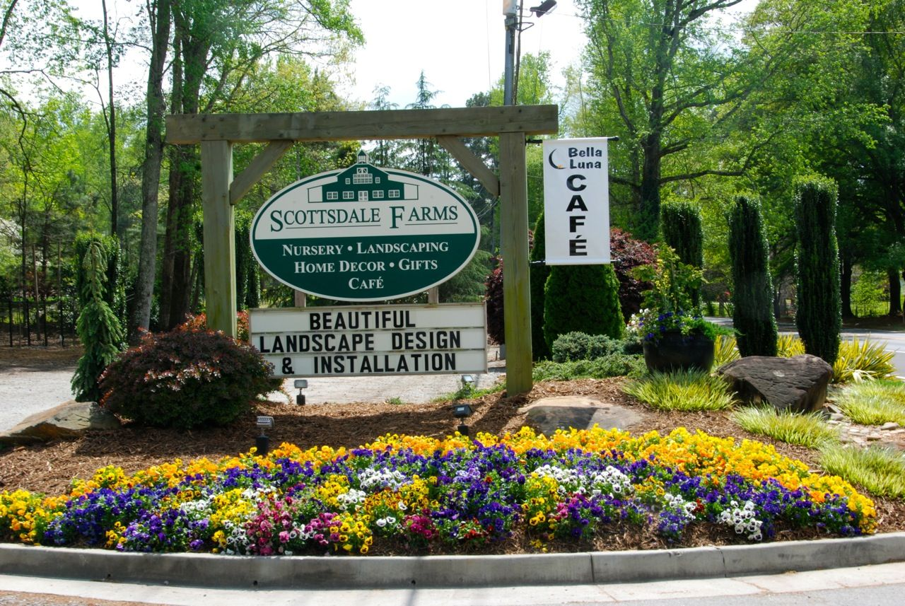 Scottsdale Farms Is A Plant Nursery Located In Alpharetta Ga It Has Wonderful Selection Of Plants Gift And An On Site Cafe
