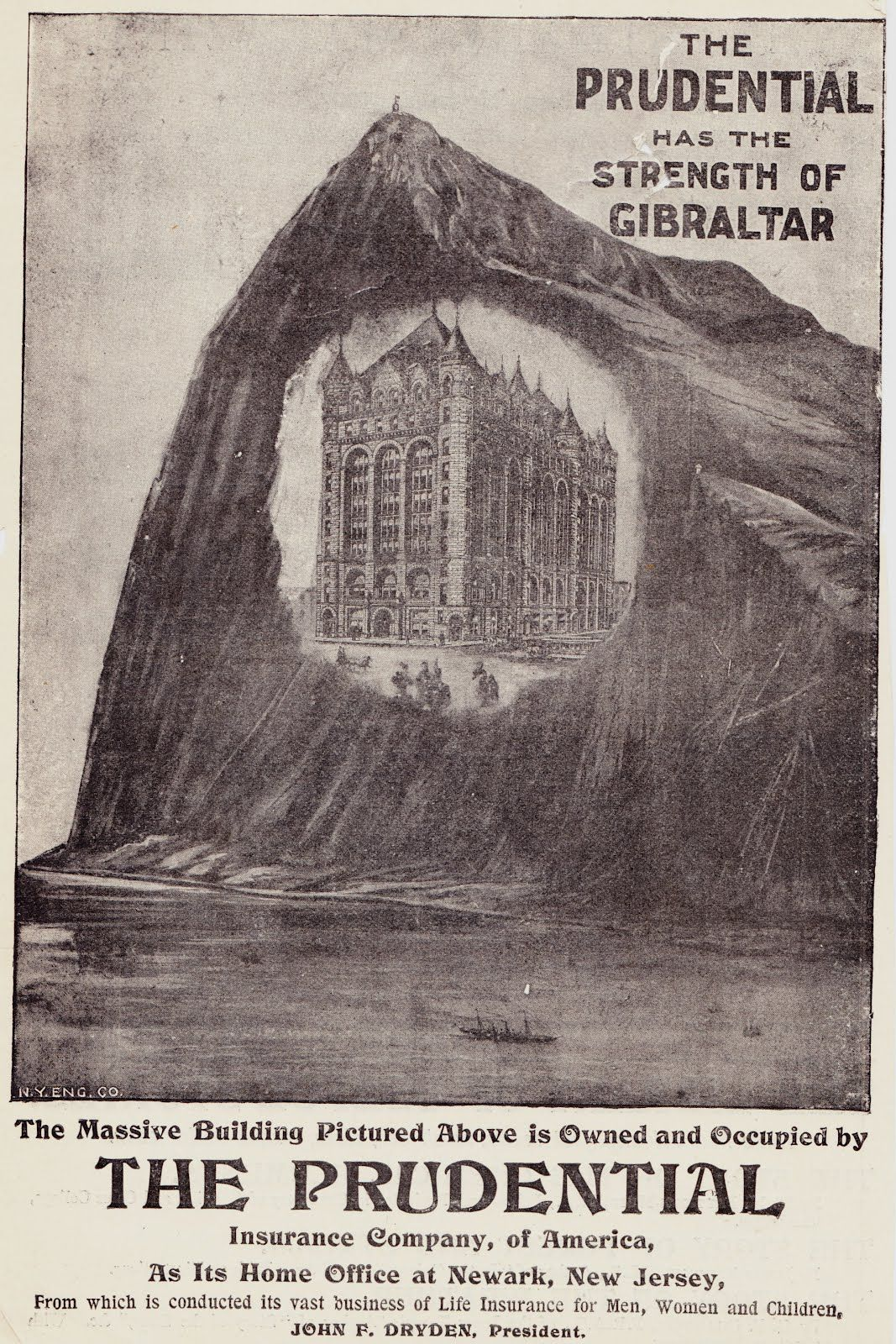 Prudential Advertisement From 1897 Issue Of The Strand Magazine
