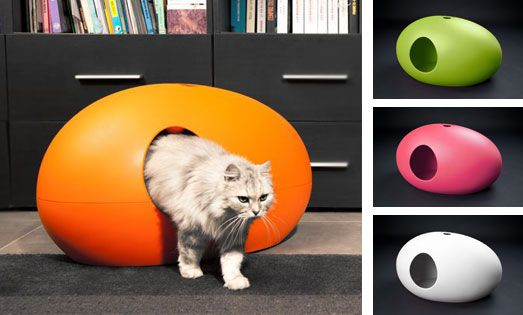 Poo poo pee do enfin une liti re design pour chat chat domestique niche et interet - Niche chat design ...