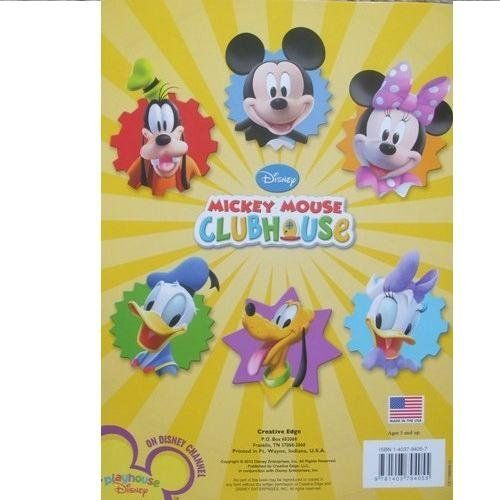 Mickey Mouse Coloring Book Mickey Mouse Big Fun Book to Color