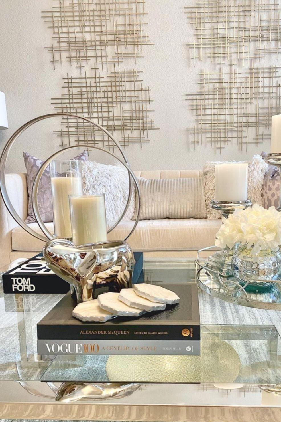 Luxury Coffee Table Styling Ideas Interior Design Thompson Ferrier Table Decor Living Room Elephant Home Decor Decorating Coffee Tables [ jpg ]