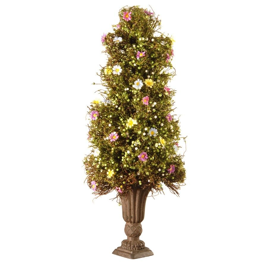 National Christmas Tree 2019.National Christmas Tree Company 24 Artificial Spring Tree
