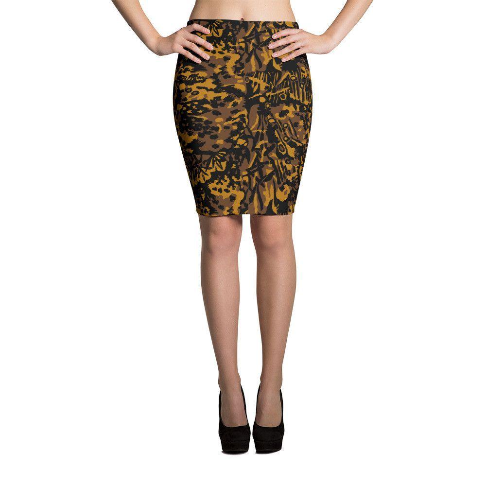 German WWII SS Palm Autumn CAMO Skirts